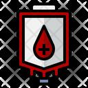 Blood Bag Erythrocyte Blood Transfusion Icon