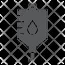 Blood Iv Bag Icon