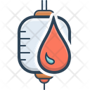 Blood Bag Donate Icon