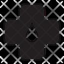 Care Cross Emergency Icon