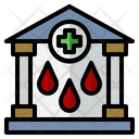 Blood Bank Red Cross Healthcare And Medical Icon