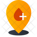 Blood Bank Location Location Pointer Location Pin Icon