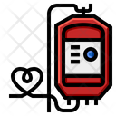 Blood Bottle Drip Icon