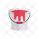 Blood Bucket Scary Icon