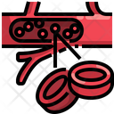 Blood Cell Blood Body Part Icon