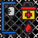 Medicine Blood Donate Icon