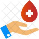 Blood Donate Save Life Blood Donation Icon