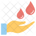 Blood Drops Donation Icon