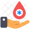 Blood Donation Blood Drop Blood Aid Icon