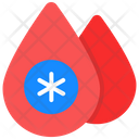 Blood Donation Blood Drops Blood Aid Icon