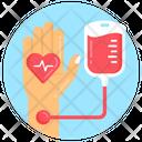Iv Drip Blood Donation Blood Drip Icon