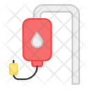 Blood Donation Blood Bank Blood Center Icon