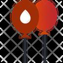 Ballons Balloon Blood Donation Icon