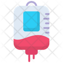 Blood Bottle Healthcare Infusion Icon