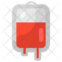 Blood Drip Iv Drip Blood Bag Icon