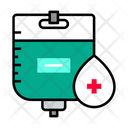 Packet Blood Packet Blood Bottle Icon
