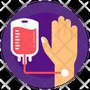 Blood Drip Blood Transfusion Iv Drip Icon