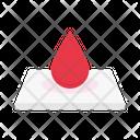 Blood Drop Bloodbank Icon