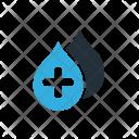 Blood Drop Medicine Icon