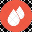 Blood Drop Health Icon