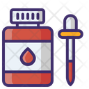 Blood Dropper Dropper Pipette Icon