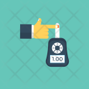 Glucose Monitoring Blood Icon