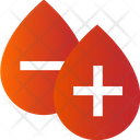 Blood Group Positive And Negative Blood Positive Blood Icon