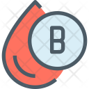 Blood Group Drop Icon