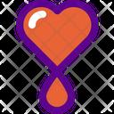 Blood Health Icon