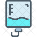 Blood infusion Icon