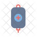 Bag Blood Emergency Icon