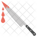 Blood Knife Kill Dagger Blood Icon