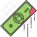 Blood Money Banknote Icon