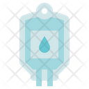 Blood Donation Medical Blood Pack Icon