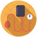 Blood Pressure Meter Monitor Icon