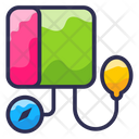 Blood Meter Icon Icon Fill Line Icon Icon