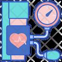 Blood Pressure Blood Health Icon