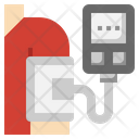 Blood Pressure Medical Equipment Medical Tool Icon