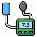 Arterial Pulse Bp Cuff Bp Machine Icon