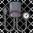 Bloodpressure Measure Medical Icon