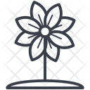 Blood root Flower Icon