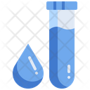 Blood Sample Test Tube Icon