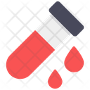 Blood Sample Blood Test Blood Container Icon