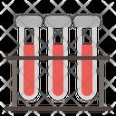Blood Sample Medical Test Tube Icon