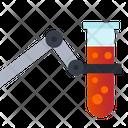 Test Tub Test Blood Test Blood Sample Icon