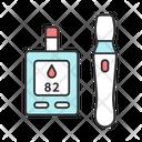 Blood Sugar Glucose Icon