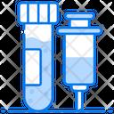 Blood Test Lab Testing Lab Apparatus Icon