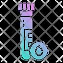 Test Tube Covid Icon
