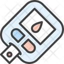 Blood Sugar Blood Test Icon