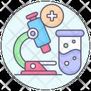 Analysis Respiratory Diagnostic Icon